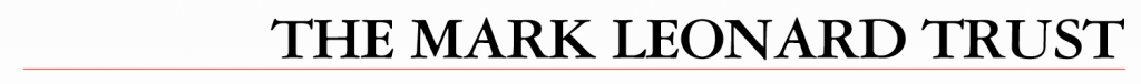 External link: Mark Leonard Trust logo