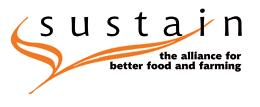 External link: Sustain website